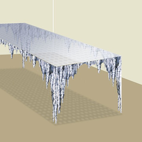 'Icicle' table