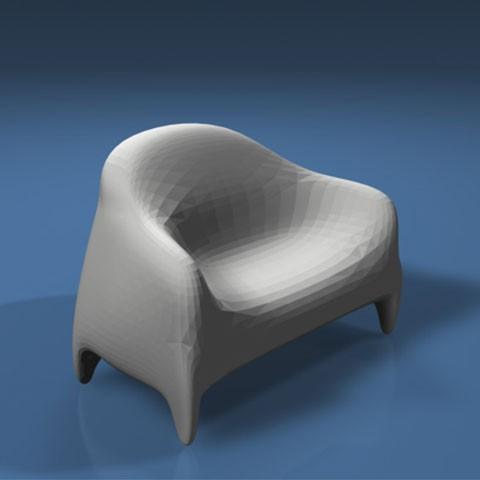 'Quilt-y' sofa