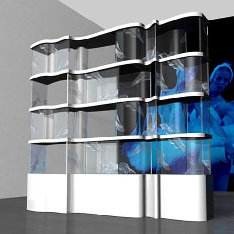 'Swan' shelves